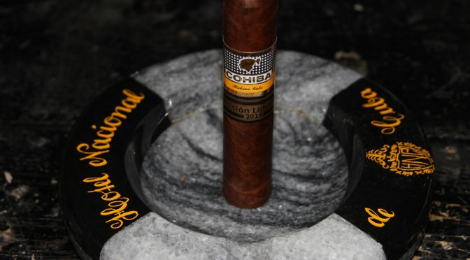 Cigar Review – Cohiba Robustos Supremos EL 2014, Sep 2014 code; Final Score – 94