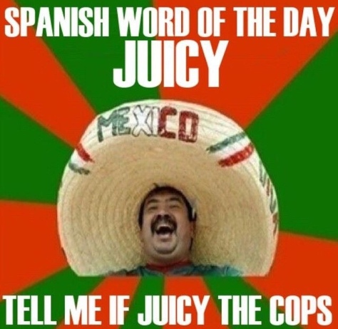 Juicy the cops