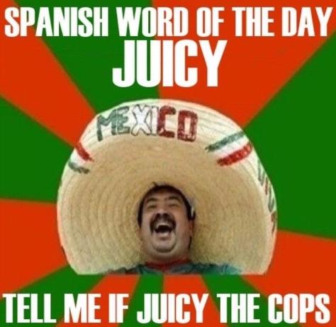 Juicy the cops