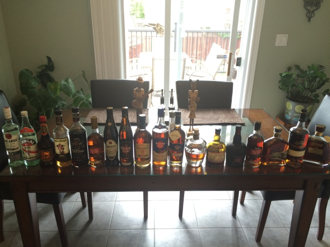 Rum Vertical-Slash-Horizontal Tasting (Part 1 of 4)…